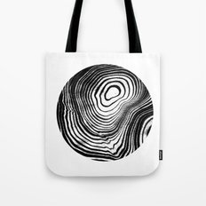 Marble 2 suminagashi outer space planet marbled pattern circle geometric galaxy Tote Bag