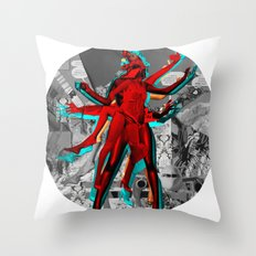 Essence Of Life · Trying to Escape · bw · Crop Circle Throw Pillow