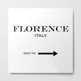 Florence - Italy Metal Print