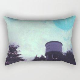 Aerial Daydreaming: hot air ballons Rectangular Pillow