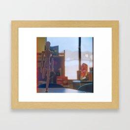 Common Man Framed Art Print