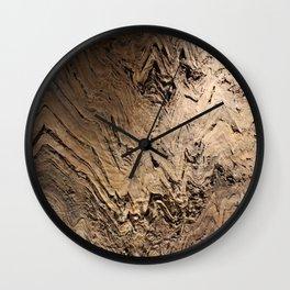 Rocky Layers Wall Clock