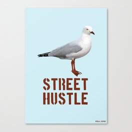 Street hustle Canvas Print