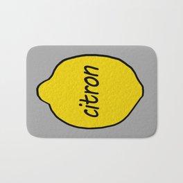 Citron Bath Mat