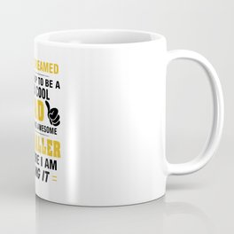 Proud Dad Of Awesome FOOTBALLER Coffee Mug