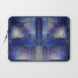 no light without shadow Laptop Sleeve