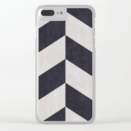 Triangular composition XVIII Clear iPhone Case