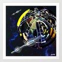 Deep Space Voyage 3 by cosmikdust