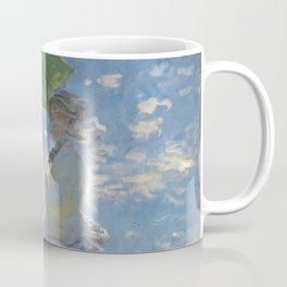 Woman with a Parasol, Monet Coffee Mug