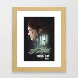 The Last of Us - Part II Framed Art Print