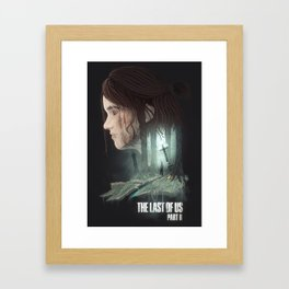 The Last of Us - Part II Framed Art Print