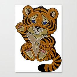 Tiger cub 2 Canvas Print