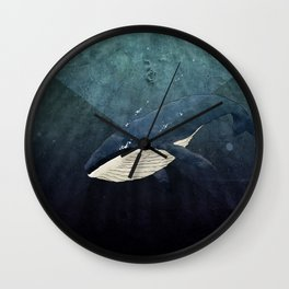 Everett's Whale Wall Clock