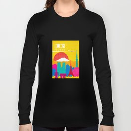 Travel to Tokyo Long Sleeve T-shirt