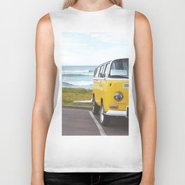 Combi yellow beach Biker Tank