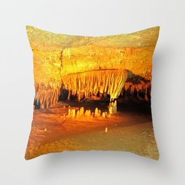 Luray Caverns Throw Pillow