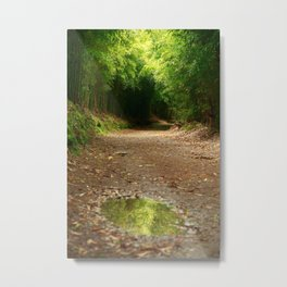 Puddle of water Metal Print