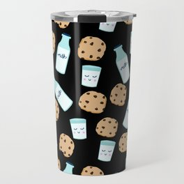 Milk and cookies pattern cute kids decor boys or girls room design Travel Mug