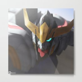 Iron-Blooded Barbatos Metal Print