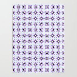 Stars 4- sky,light,rays,pointed,hope,estrella,mystical,spangled,gentle. Poster