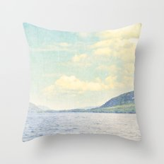 Greetings from Nowhere Throw Pillow