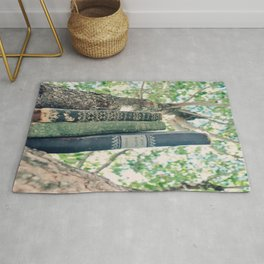Books Out on a Limb Rug