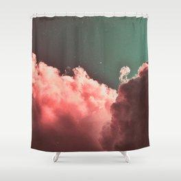 Pink Cotton Shower Curtain
