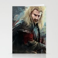 fili Stationery Cards featuring Fili Heir of Durin by Alba Palacio