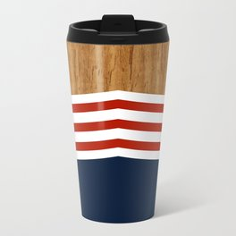 Vintage Rower Ver. 3 Metal Travel Mug