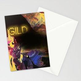 Gild the Luna Stationery Cards