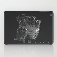sydney iPad Cases featuring SYDNEY by Nicksman