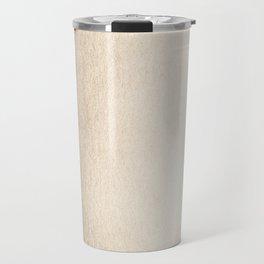 Ecru Blush Gold Sands Travel Mug
