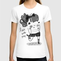 run T-shirts featuring Run by Doodleby