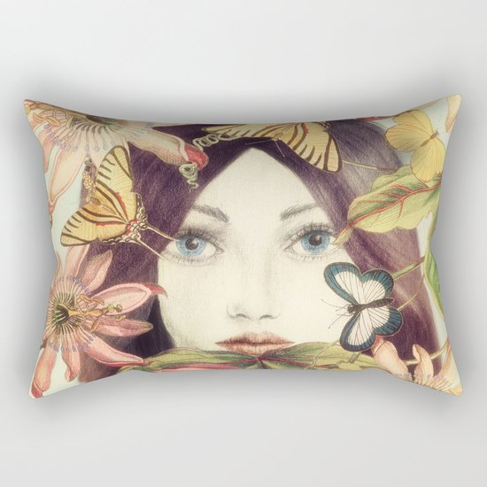 Whispers From A Secret Garden Rectangular Pillow