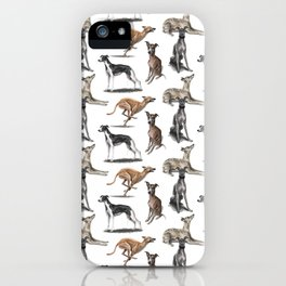 The Whippet iPhone Case