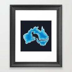 Australia Framed Art Print
