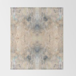 Glitch Vintage Rug Abstract Throw Blanket