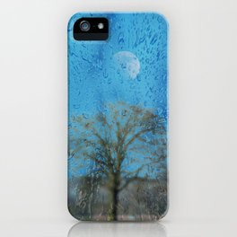 Concept landscape : The lonely tree iPhone Case