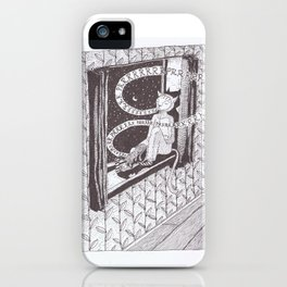Mankind needs catsuits. iPhone Case