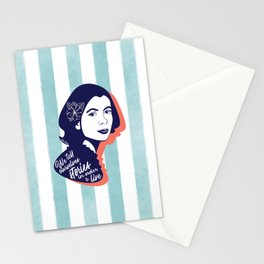 We Tell Stories - Joan Didion Stationery Cards