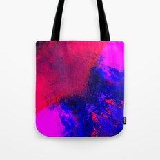 02-14-36 (Red Blue Glitch) Tote Bag