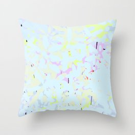 Scent of spring Throw Pillow