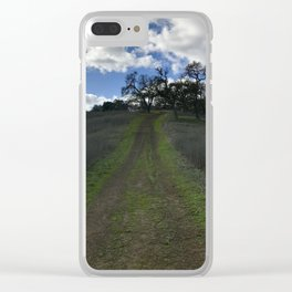 Tethered Path: Coyote Valley Clear iPhone Case