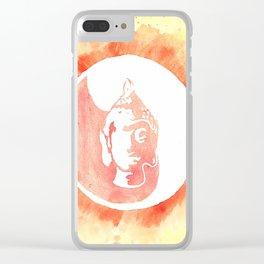 Buddha YinYang Clear iPhone Case
