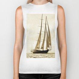 beauty is sailing Biker Tank
