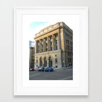montreal Framed Art Prints featuring montreal by Allie A