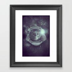 Deathnaut Framed Art Print