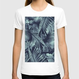 Tropical Jungle Leaves Dream #9 #tropical #decor #art #society6 T-shirt