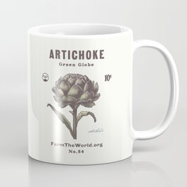 Farm the World Artichoke Seed Packet Coffee Mug