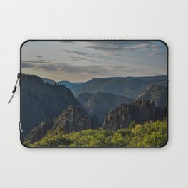 Black Canyon of the Gunnison National Park at Sunrise Laptop Sleeve